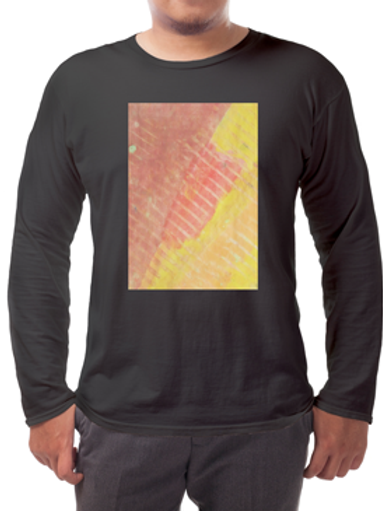 Linear Reds Long-sleeved Tee's