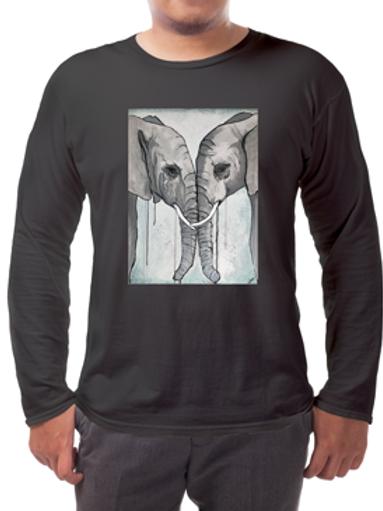 Elephants Long-sleeved Tee's