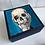 Thumbnail: Blue Skull Jewellery Box