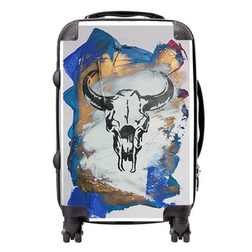 Blue Sid Suitcase  / Cabin Bag