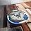 Thumbnail: Blue Sid Bone China Mug & Coaster Set