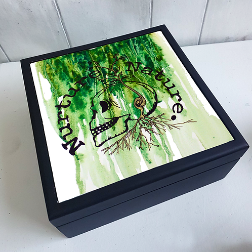 Nuture Nature Spring Jewellery Box