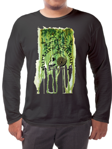 Nuture Nature Summer Long-sleeved Tee's