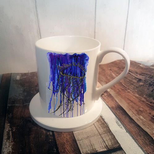 Anything is Possible Bone China Mug & Coaster Set