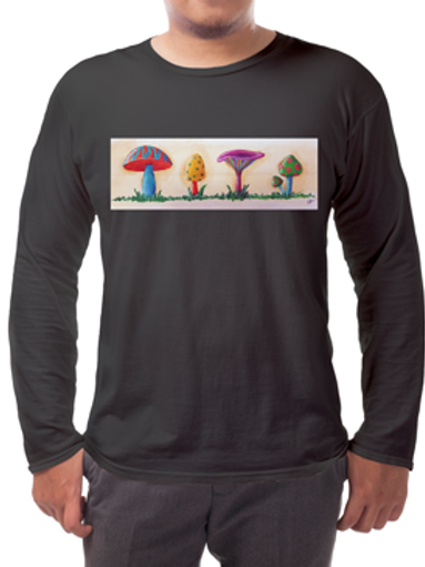 Shrooms Long-sleeved Tee's