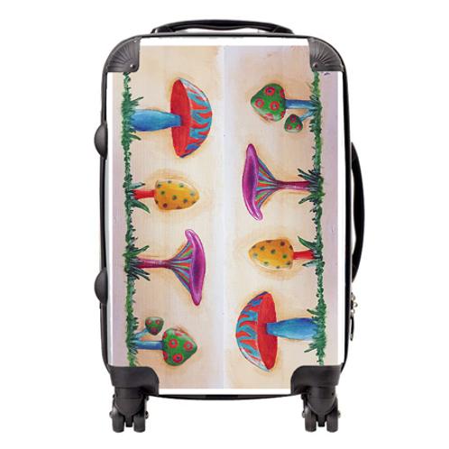 Shrooms Suitcase  / Cabin Bag