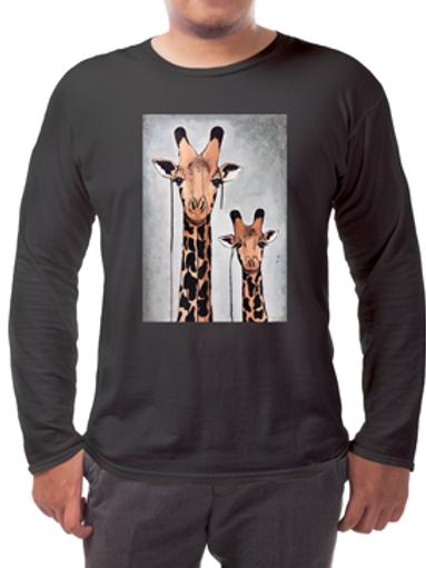 Giraffes Long-sleeved Tee's