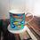 Thumbnail: Fish Bone China Mug & Coaster Set