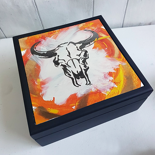 Orange Sid Jewellery Box