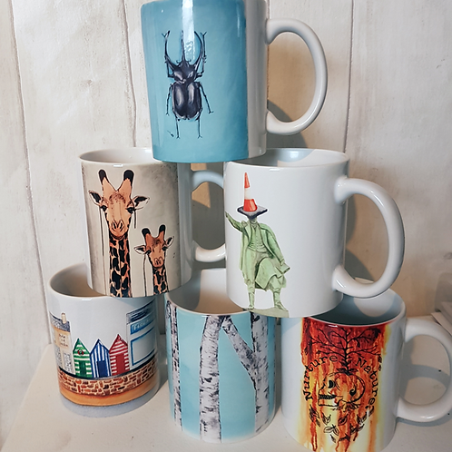 Nuture Nature Winter Mug