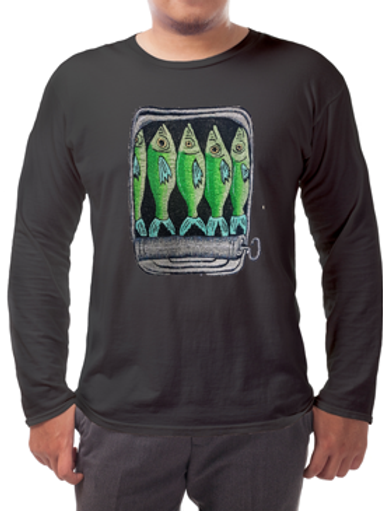 Sardines Long-sleeved Tee's