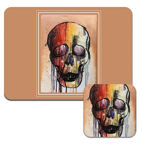 Colourful Skull Placemats