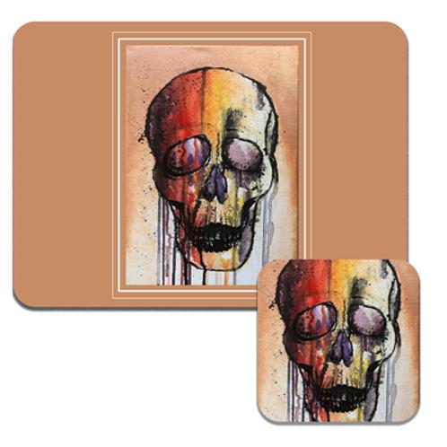 Colourful Skull Coasters