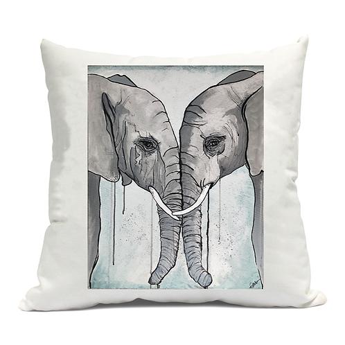Elephants Cushion