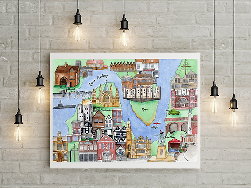 My Medway Signed Numbered Prints
