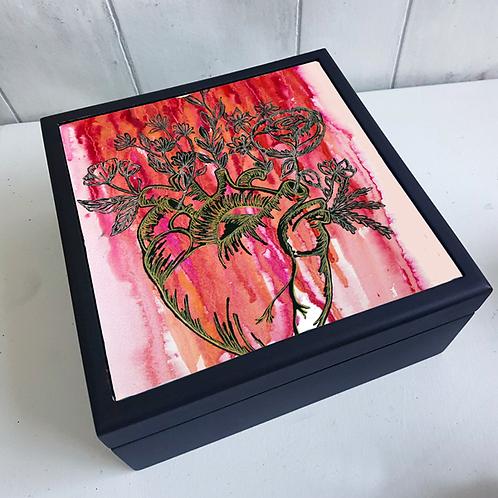 Love Fiercely Jewellery Box