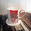 Thumbnail: Love Fiercely Bone China Mug & Coaster Set