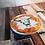 Thumbnail: Orange Sid Bone China Mug & Coaster Set