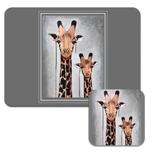 Giraffes Placemats