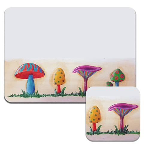 Shrooms Placemats