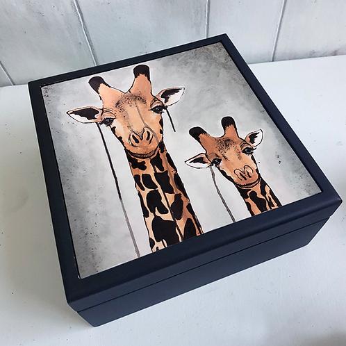 Giraffes Jewellery Box