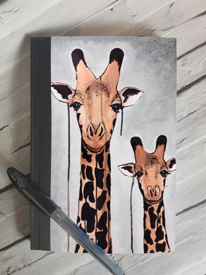 Giraffes Notebook