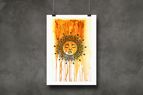 Rise with the Sun Tote / Shopping Bag