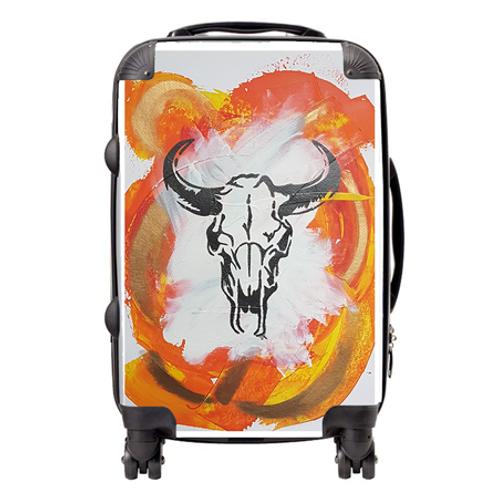Orange Sid Suitcase  / Cabin Bag