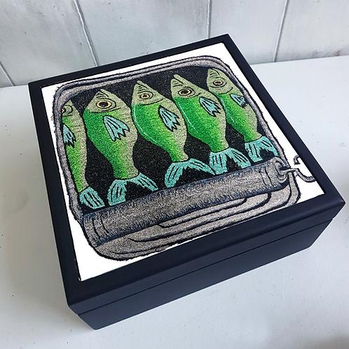 Sardines Jewellery Box
