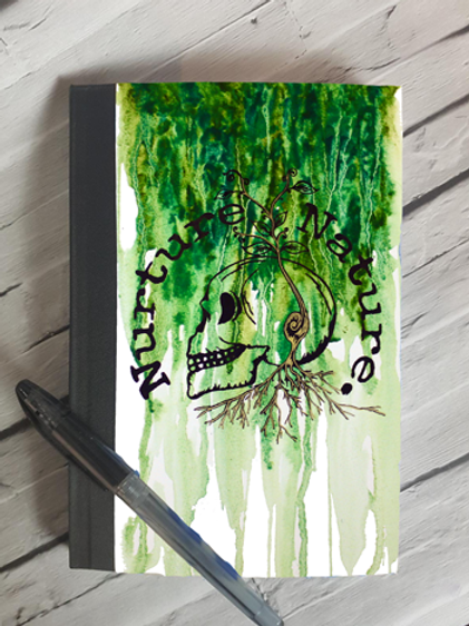 Nuture Nature Spring Notebook
