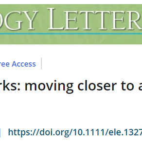New Review & Synthesis in Ecology Letters is Out!