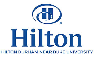 hilton logo blue white background newest