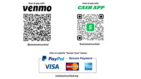 Vets To Vets QRCODES without social medi