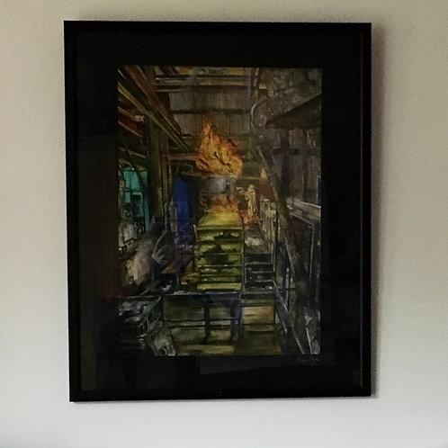 Weir Framed Print
