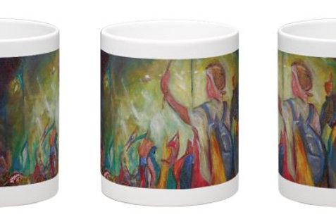 Glastonbury Fever wraparound mug