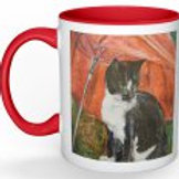 Tilly the cat mug