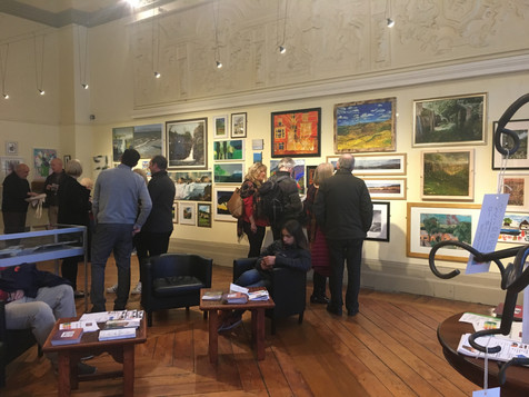 Calderdale's Open Art Exhibition at Bankfield Museum