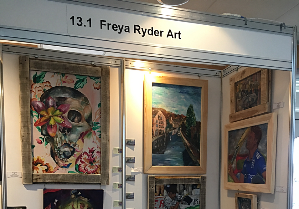 Art Stand at Chester Arts Fair