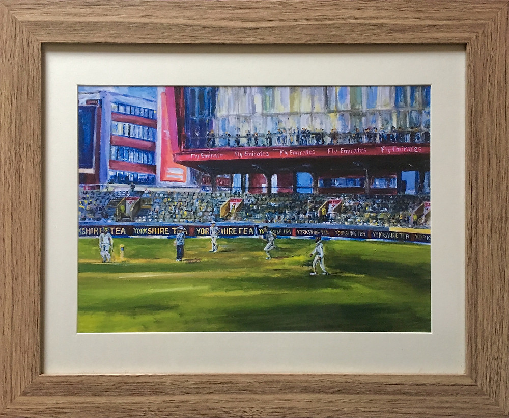 Old Trafford framed print