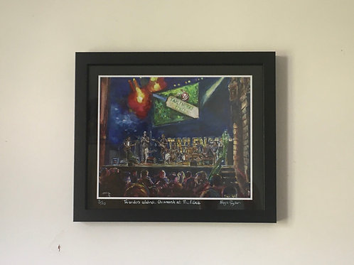 'Tailenders celebrate Chrismarch at The Palace' Limited Edition Print
