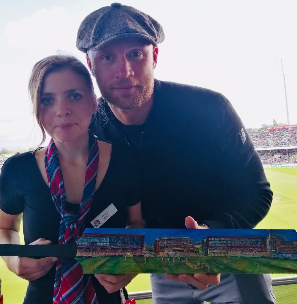 Meeting Freddie Flintoff