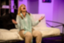 Stevie is struggling to deal with the inconceivable. Susannah Baines in Edward Albee's The Goat