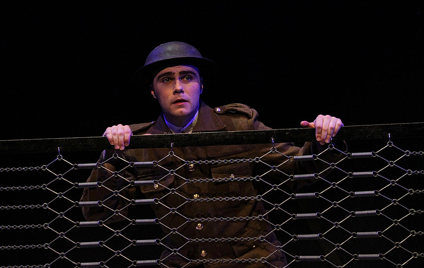 George Stagnell as Tommo in Pick Me Up's production of Private Peaceful