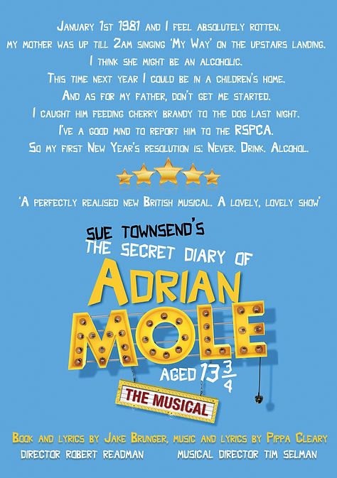 Pick Me Up: Adrian Mole The Musical