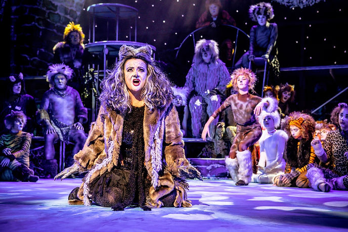 Tracy Rea as Grizabella in AndCatsew Lloyd Webber's