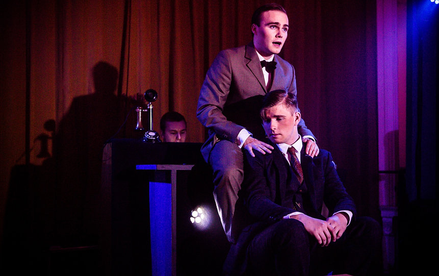 George Stagnell and Sam Hird in Stephen Dolginoff's Thrill Me