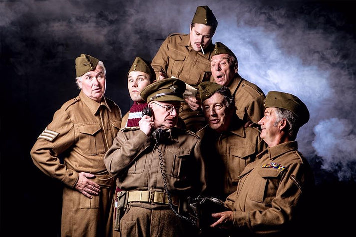 Pick Me Up Theatre's 50th anniversary production of Dad's Army
