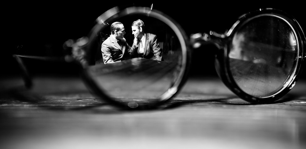 Thrill Me: The Leopold and Loeb Story. Photo by Matthew Kitchen.