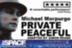 Private Peaceful at the Edinburgh Fringe 2017