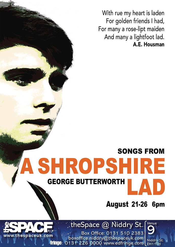 George Butterworth Sings from A Shropshire Lad Sam Hird